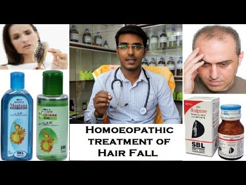 Hair Fall Treatment with Homoeopathic Products | SBL Shampoo, Oil & Tablets