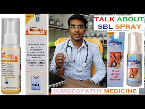 SBL Spary | Arnica & Cantheris | How to Use in Hindi